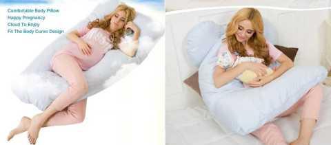 Honana WX 8396 - Honana WX-8396 Pregnancy U Tyle Body Pillow Banggood Coupon Promo Code [USA Warehouse]