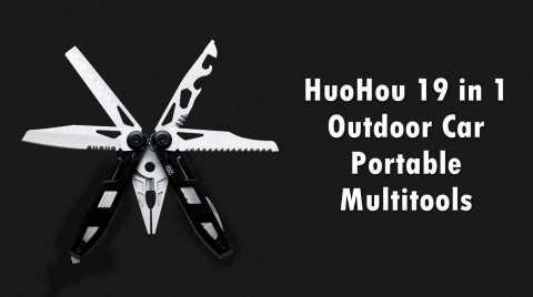 HuoHou 19in1 - HuoHou 19 in 1 Outdoor Car Multitools Banggood Coupon Promo Code