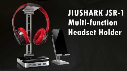 JIUSHARK JSR 1 - JIUSHARK JSR-1 Multi-function Headset Holder Banggood Coupon Promo Code
