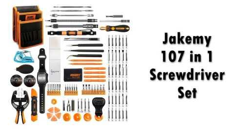 Jakemy Screwdriver Set - Jakemy 107 in 1 Screwdriver Set Amazon Coupon Promo Code