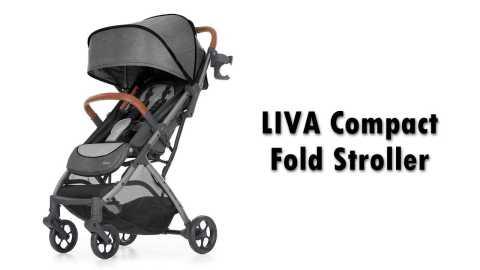 LIVA Compact Fold Stroller - Born Free LIVA Compact Fold Stroller Amazon Coupon Promo Code