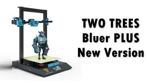 TWO TREES Bluer PLUS - TWO TREES Bluer PLUS 3D Printer Banggood Coupon Promo Code