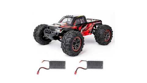 XLF X04 - XLF X04 1/10 4WD Brushless RC Car Banggood Coupon Promo Code [2 Batteries]