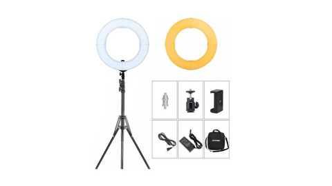 ZOMEI 14 inch LED Ring Light - ZOMEI 14 inch LED Ring Light Amazon Coupon Promo Code