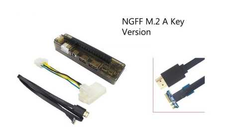 Caturda NGFF - Caturda NGFF M.2 A Key EXP GDC External Laptop Video Card Dock Banggood Coupon Promo Code