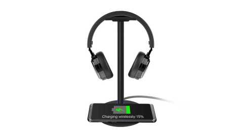 New Bee NB Z2 - New Bee NB-Z2 2-in-1 Function Headphone Stand Banggood Coupon Promo Code
