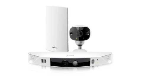 Panasonic HomeHawk security Camera - Panasonic HomeHawk Outdoor Wireless IP Camera Amazon Coupon Promo Code [2 Camera Kit]