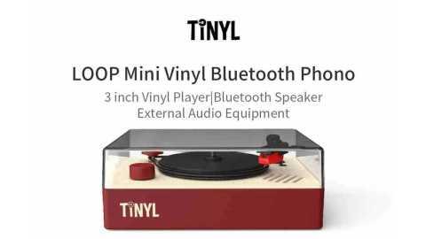 Xiaomi TINYL LOOP - Xiaomi TINYL LOOP Mini Vinyl Bluetooth Phono Banggood Coupon Promo Code