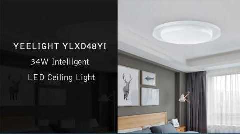 Yeelight YLXD48YI - Yeelight YLXD48YI 34W Intelligent LED Ceiling Light Banggood Coupon Promo Code