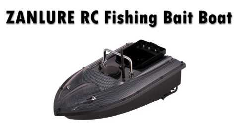 ZANLURE RC Fishing Bait Boat - ZANLURE RC Fishing Bait Boat Banggood Coupon Promo Code