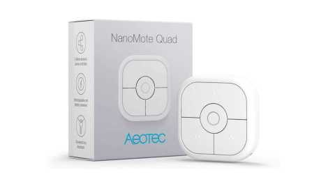 Aeotec NanoMote Quad - Aeotec NanoMote Quad Remote Scene Controller Amazon Coupon Promo Code