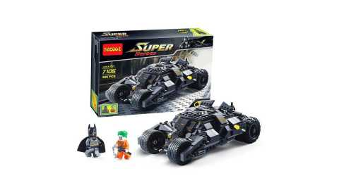 Decool 7105 - Decool 7105 Batmobile Building Blocks 325PCS Banggood Coupon Promo Code