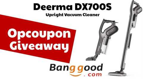 Deerma DX700S giveaway - Opcoupon Weekly Giveaway