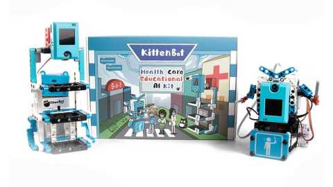 KittenBot Health Care AI Kit - KittenBot Health Care Educational 9-in-1 AI Kit Banggood Coupon Promo Code