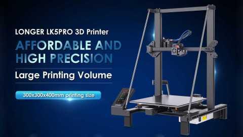 Longer LK5 Pro - Longer LK5 Pro 3D Printer Gearbest Coupon Promo Code