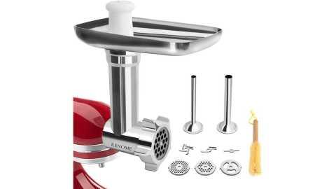 Metal Food Grinder Attachment - KENOME Metal Food Grinder Attachment for KitchenAid Stand Mixers Amazon Coupon Promo Code