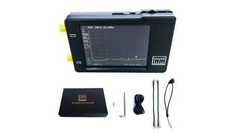 Tiny Spectrum Analyzer - Tinysa Tiny Spectrum Analyzer Banggood Coupon Promo Code