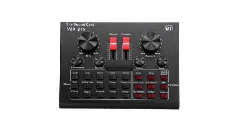 V8X PRO External Audio Mixer - V8X PRO External Audio Mixer Banggood Coupon Promo Code