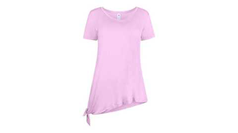 90 Degree by Reflex Womens Short Sleeve Knotted Top - 90 Degree by Reflex Women's Short Sleeve Knotted Top Proozy Coupon Promo Code