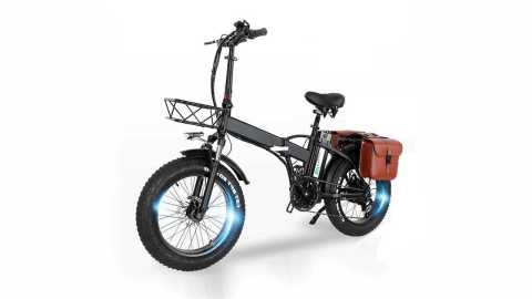 CMACEWHEEL GW20 - CMACEWHEEL GW20 Folding Electric Bike with Tail bag Banggood Coupon Code [UK Warehouse]