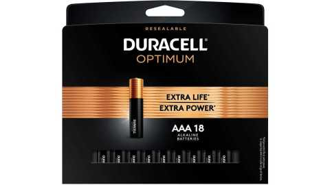 Duracell Optimum AAA Batteries - Duracell Optimum AAA Batteries 18 Count Pack Amazon Coupon Promo Code