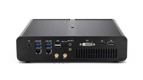 HYSTOU F8 - HYSTOU F8 Mini PC Banggood Coupon Promo Code [i7-7920HQ 16+512GB SSD]