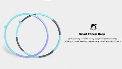 MOVE IT Smart Hoop - MOVE IT Smart Fitness Hoop Banggood Coupon Promo Code
