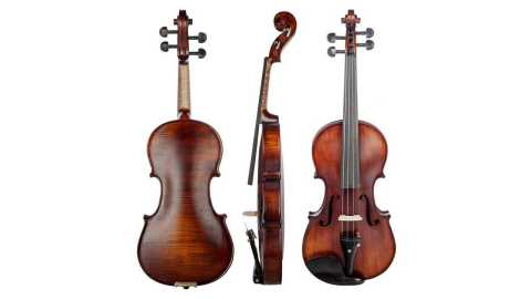 NAOMI Acoustic Violin - NAOMI Acoustic Violin 4/4 Full Size Solid Wood Banggood Coupon Promo Code