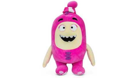 "Oddbods Newt - Oddbods Newt Plush Toy Amazon Coupon Promo Code [Pink 12""/30cm]"