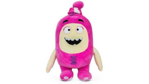 "Oddbods Newt - Oddbods Newt Plush Toy Amazon Coupon Promo Code [Pink 12""/30cm]"