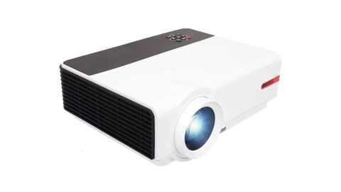 Rigal RD808A - Rigal RD808A LED Mini Projector Banggood Coupon Promo Code