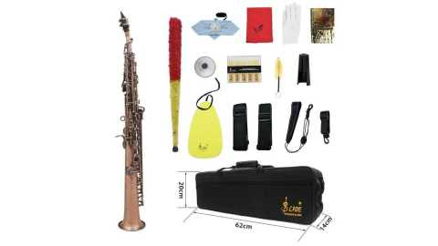 SLADE Soprano Saxophone - SLADE Straight Bb Soprano Saxophone Banggood Coupon Promo Code