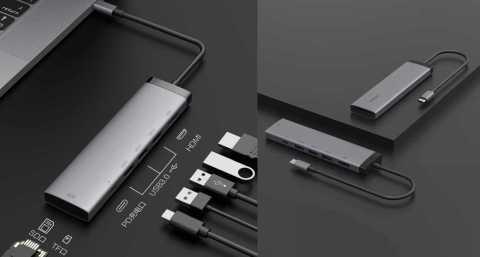 Xiaomi MIIIW 7In 1 USB C Hub - Xiaomi MIIIW 7 In 1 USB-C Hub Docking Station Banggood Coupon Promo Code