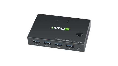 AIMOS USB HDMI Switch Box - AIMOS USB HDMI Switch Box Banggood Coupon Promo Code