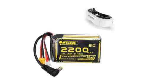 Alien Model 111V 2200mAh - Alien Model 11.1V 2200mAh 3S 5C Lipo Battery for Fatshark HDO2 DJI Banggood Coupon Promo Code