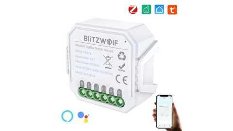 BlitzWolf BW SS7 - BlitzWolf BW-SS7 ZigBee Smart Light Switch Module Banggood Coupon Promo Code [1/2 Gang]