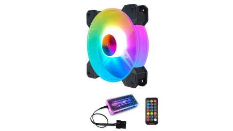 Coolmoon 12cm RGB Cooling Fans - Coolmoon 12cm RGB Cooling Fans Banggood Coupon Promo Code