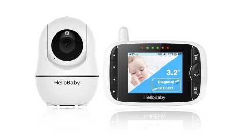 HelloBaby Upgraded Baby Monitor - HelloBaby Upgraded Baby Monitor Amazon Coupon Promo Code