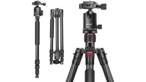 Neewer Carbon Fiber Camera Tripod - Neewer Carbon Fiber Camera Tripod Monopod Amazon Coupon Promo Code [66 inches]