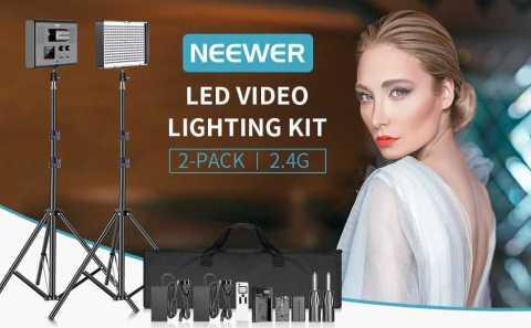 Neewer LED Video Lighting Kit - Neewer LED Video Lighting Kit 2.4G Amazon Coupon Promo Code