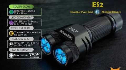 Niwalker Esquare ES2 - Niwalker Esquare ES2 Flashlight Banggood Coupon Promo Code