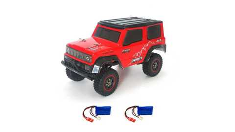 SG 1801 - SG 1801 2.4G 1/18 Crawler RC Car Banggood Coupon Promo Code [2/3 Batteries]