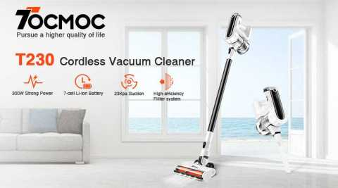 Tocmoc Vacuum Cleaner - Tocmoc T230 Cordless Vacuum Cleaner Amazon Coupon Promo Code