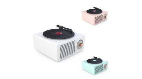 Vinivn Retro Turntable - Vinivn Retro Turntable Wireless Mini Bluetooth 5.0 Speaker Banggood Coupon Promo Code