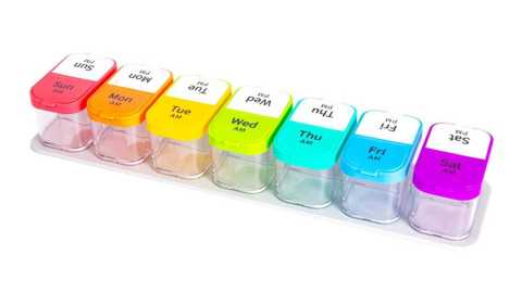 AIMO 14 cells Weekly Pill Organizer - AIMO 14 Cells Weekly Pill Organizer Banggood Coupon Promo Code