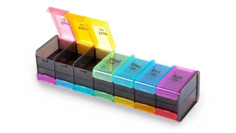 AIMO Double Rows Weekly Pill Organizer - AIMO Double Rows Weekly Pill Organizer Banggood Coupon Promo Code
