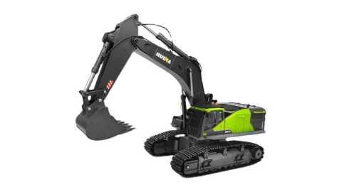 HuiNa 1593 - HuiNa 1593 1/14 22CH RC Excavator Banggood Coupon Promo Code
