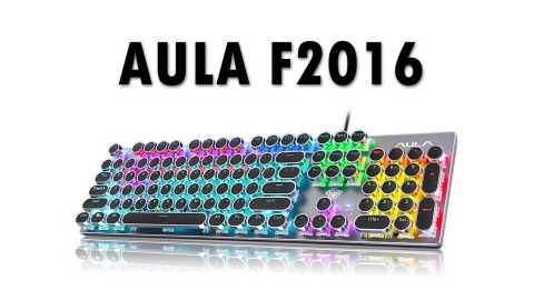 AULA F2016 - AULA F2016 Wired Mechanical Keyboard Banggood Coupon Promo Code [104 Keys]