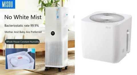 MISOU MS5800 - MISOU MS5800 No Fog Humidifier Xiaomi Mijia Air Purifier Pro Banggood Coupon Code