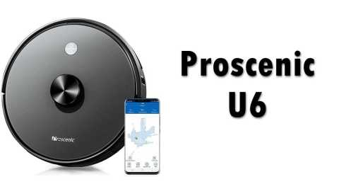 Proscenic U6 - Proscenic U6 Robot Vacuum Cleaner Geekbuying Coupon Promo Code [Europe Warehouse]